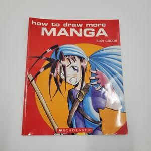How to Draw Manga By Katy Coope Book Red